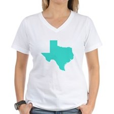 Turquoise Texas Outline Shirt