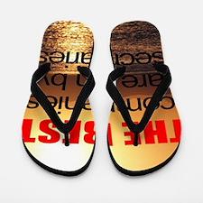 secretary quote Flip Flops