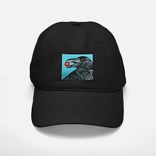 Black Raven Crow Baseball Hat