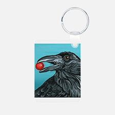 Black Raven Crow Keychains