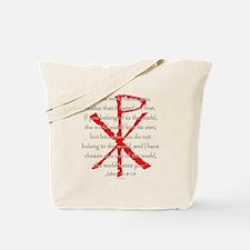 John 15:18-19 Tote Bag