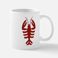 Vintage Art Deco Lobster Mugs