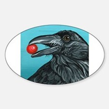 Black Raven Crow Decal