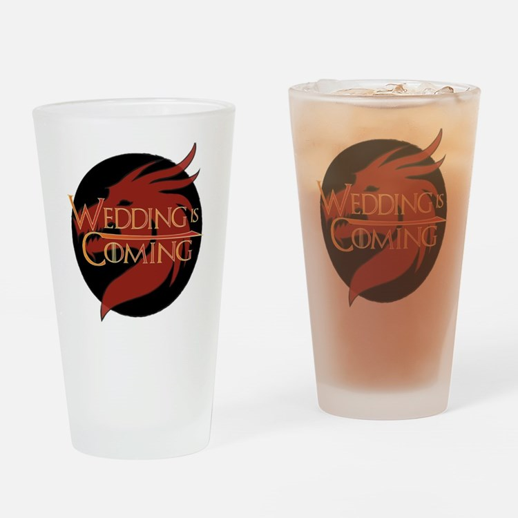 Wedding is Coming - Dragon Drinking Glass