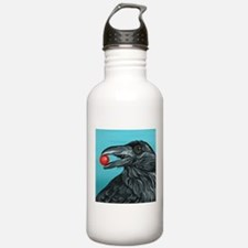 Black Raven Crow Water Bottle