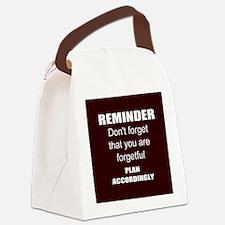 Secretary Canvas Lunch Bag