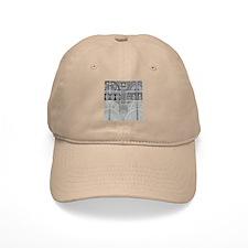 Ornamental Abstract Design Pattern Baseball Cap
