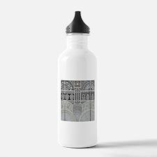 Ornamental Abstract De Water Bottle