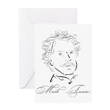 Twain Greeting Card