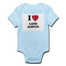 I love Land Agents Body Suit