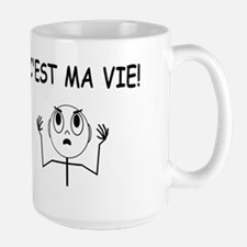 C'est Ma Vie Mugs