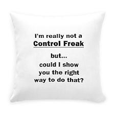 Control Freak Everyday Pillow