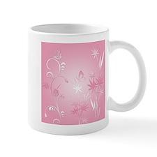 Butterflies in Pink Mug