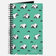 Mustached Snoopy Journal