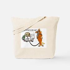 No Halter? Tote Bag