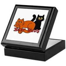 Best Buds Cats Keepsake Box