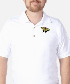 1581 Tiger Swallowtail Butterfly Golf Shirt