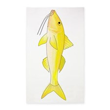 Gold Saddle Goatfish Area Rug