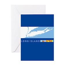 Long Island - New York. Greeting Card
