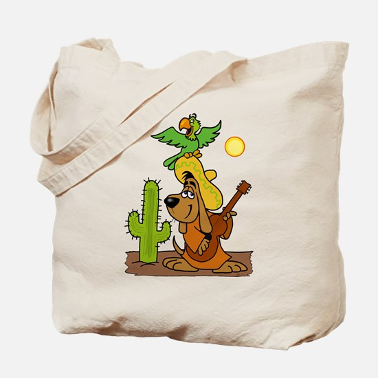 Mexican Puppy Tote Bag