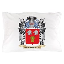 Cholmondeley Coat of Arms - Family Cre Pillow Case