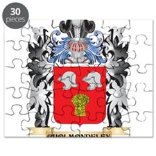 Cholmondeley Coat of Arms - Family Crest Puzzle