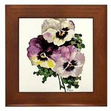 pansy water colourfinal signed3000 copy.png Framed