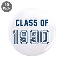 """Class of 1990 3.5"""" Button (10 pack)"""