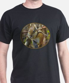 Chipmunk Eating T-Shirt