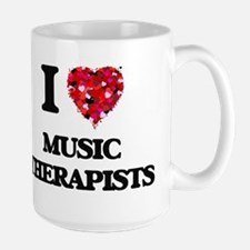 I love Music Therapists Mugs