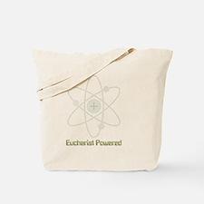 eucharistpowered_dark.png Tote Bag