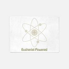 eucharistpowered_dark.png 5'x7'Area Rug
