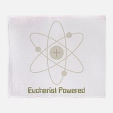 eucharistpowered_dark.png Throw Blanket