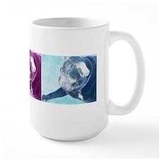 Pug Colorful Mug