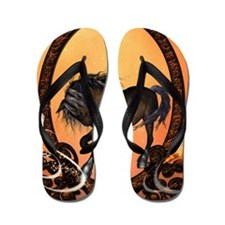 Awesome horse Flip Flops