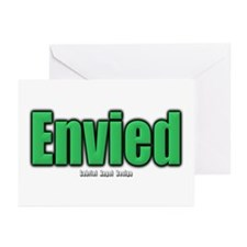 Envied Greeting Cards (Pk of 20)