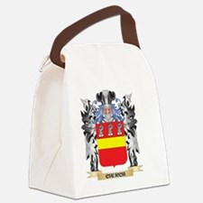 Church Coat of Arms - Family Cres Canvas Lunch Bag