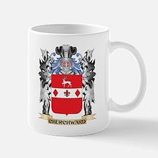 Churchward Coat of Arms - Family Crest Mugs