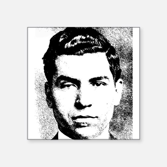 Mafia Gangster, Lucky Luciano Sticker