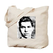 Mafia Gangster, Lucky Luciano Tote Bag