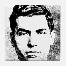 Mafia Gangster, Lucky Luciano Tile Coaster