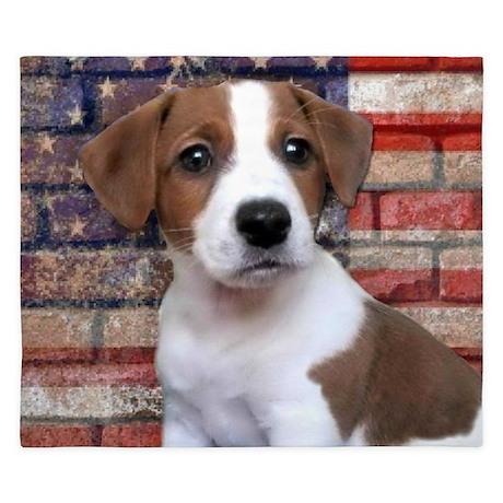 Jack Russell Terrier King Duvet