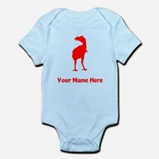 Phororhacos Silhouette (Red) Body Suit