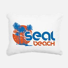 Seal Beach, California Rectangular Canvas Pillow