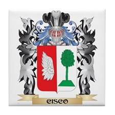 Cisco Coat of Arms - Family Crest Tile Coaster