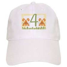 4 (little mice) Baseball Cap