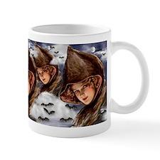 Gibson Girl Witch Mug