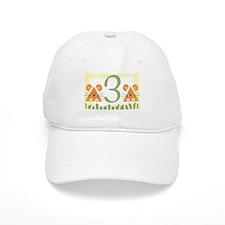 3 (little mice) Baseball Cap