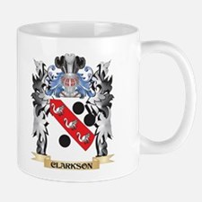 Clarkson Coat of Arms - Family Crest Mugs