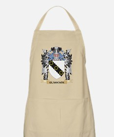 Clarkson Coat of Arms - Family Crest Apron